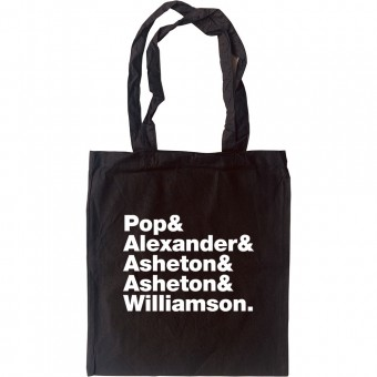 Iggy and the Stooges Line-Up Tote Bag