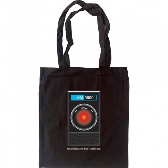 "HAL9000: ""I'm Sorry Dave"" Tote Bag"
