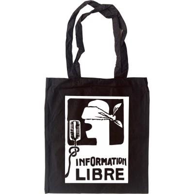 Information Libre Tote Bag