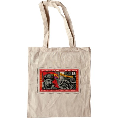 International Brigades Stamp Tote Bag