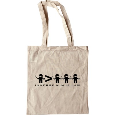 Inverse Ninja Law Tote Bag