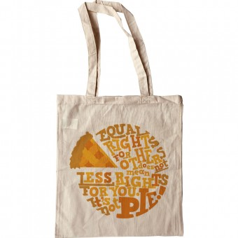 It's Not Pie Tote Bag