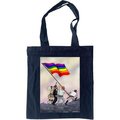 Iwo Jima Pride Flag Tote Bag