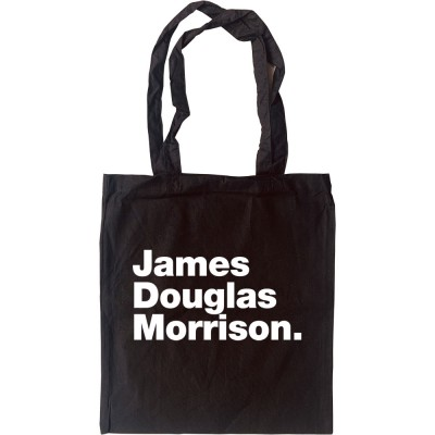 James Douglas Morrison Tote Bag
