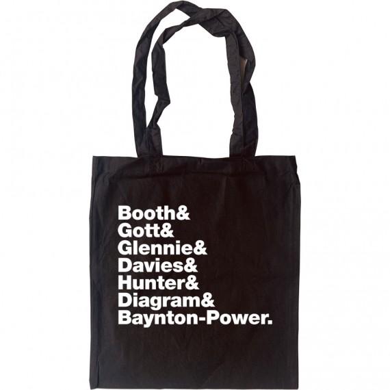 James Line-Up Tote Bag