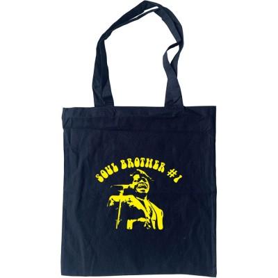 James Brown: Soul Brother Number One Tote Bag