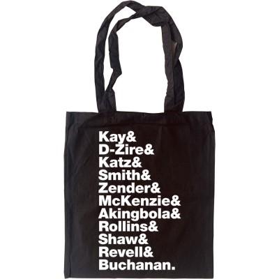 Jamiroquai Line-Up Tote Bag