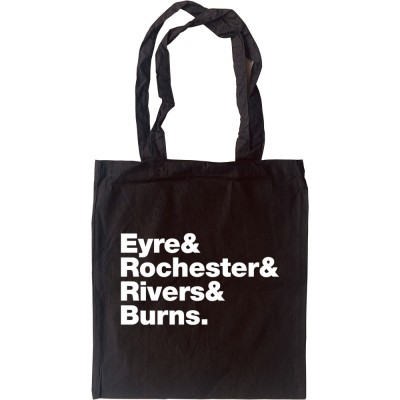 Jane Eyre Line-Up Tote Bag