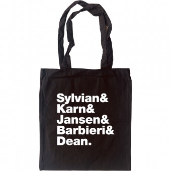 Japan Line-Up Tote Bag