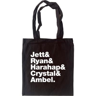 Joan Jett & The Blackhearts Line-Up Tote Bag