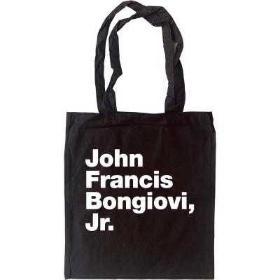 John Francis Bongiovi Jr Tote Bag