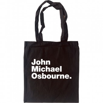 John Michael Osbourne Tote Bag