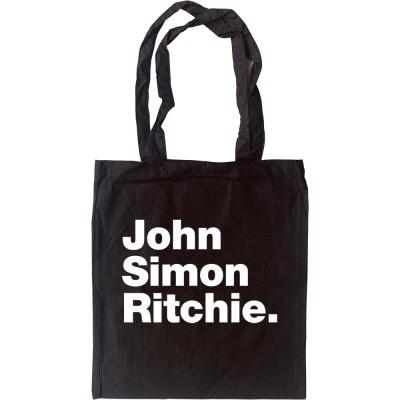 John Simon Ritchie Tote Bag