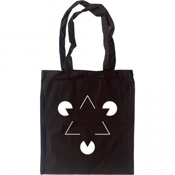 Kanizsa Triangle Tote Bag