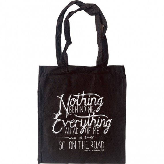 """Jack Kerouac """"On The Road"""" Quote Tote Bag"""