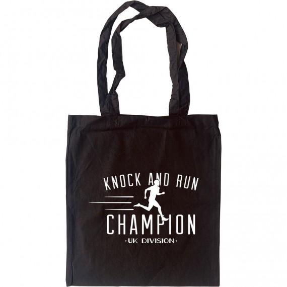 Knock and Run Champion Tote Bag