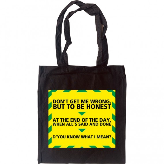 """Gavin and Stacey """"Know What I Mean"""" Tote Bag"""