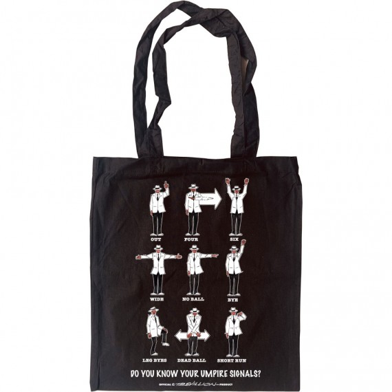 Know Your Umpire Signals Tote Bag
