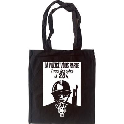 La Police Vous Parle Tous Les Soirs � 20h Tote Bag