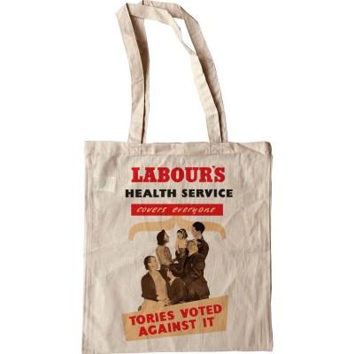 Labour's Health Service Tote Bag