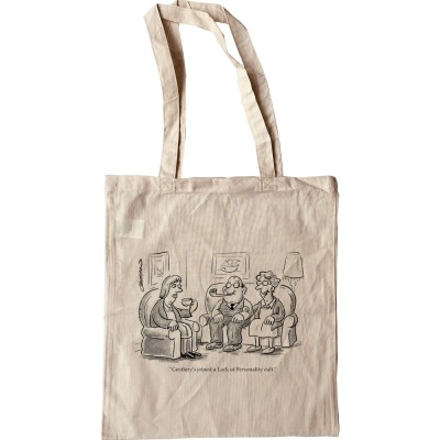 Geoffrey's Joined A Lack Of Personality Cult Tote Bag