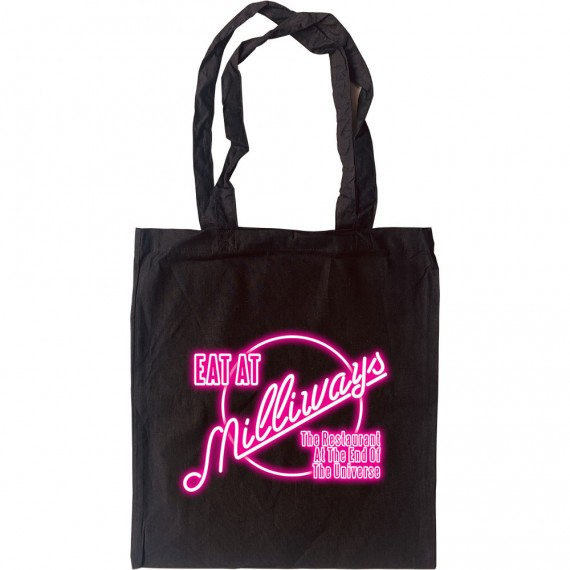 Eat At Milliways Tote Bag