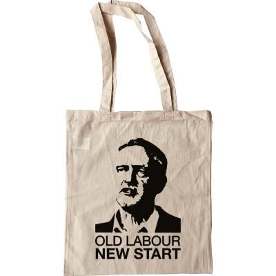 Jeremy Corbyn: Old Labour, New Start Tote Bag
