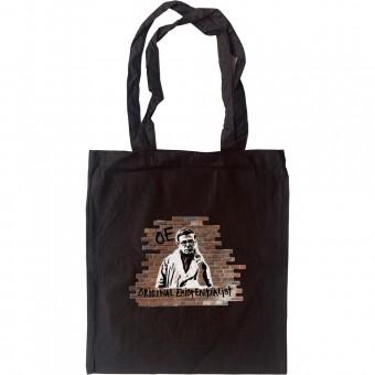 Jean-Paul Sartre: Original Existentialist Tote Bag