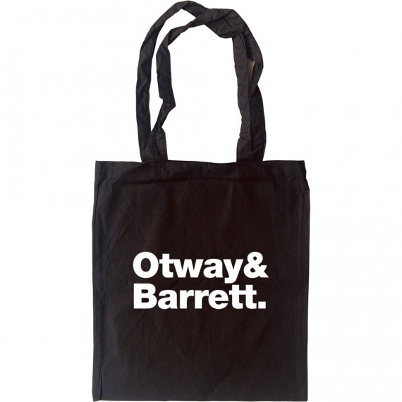 John Otway and Wild Willy Barrett Line-Up Tote Bag