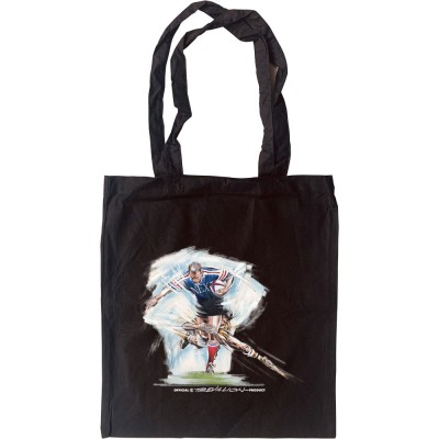 """""""The Perfect Tackle From Behind"""" Tote Bag"""