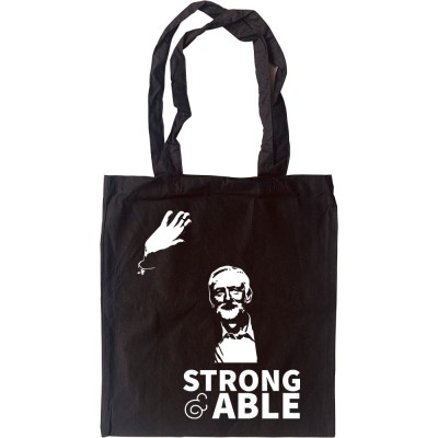 Jeremy Corbyn: Strong and Able Tote Bag