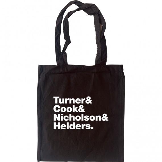 Arctic Monkeys Line-Up Tote Bag