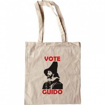 """Guy Fawkes """"Vote Guido"""" Tote Bag"""