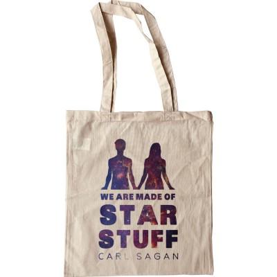 Carl Sagan: We Are Made Of Star Stuff Tote Bag
