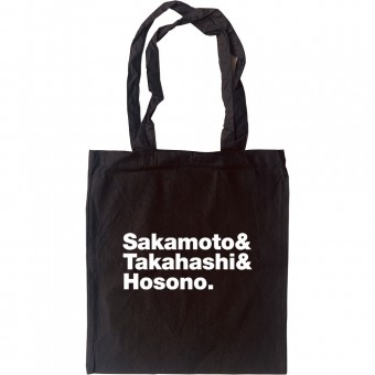 Yellow Magic Orchestra Line-Up Tote Bag