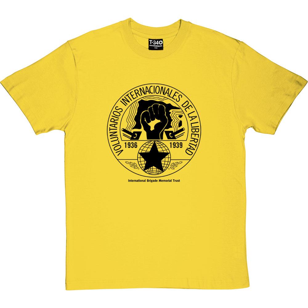 Internationale Brigaden Interbrigaden Brigadas Internacionales No Pasaran Shirt