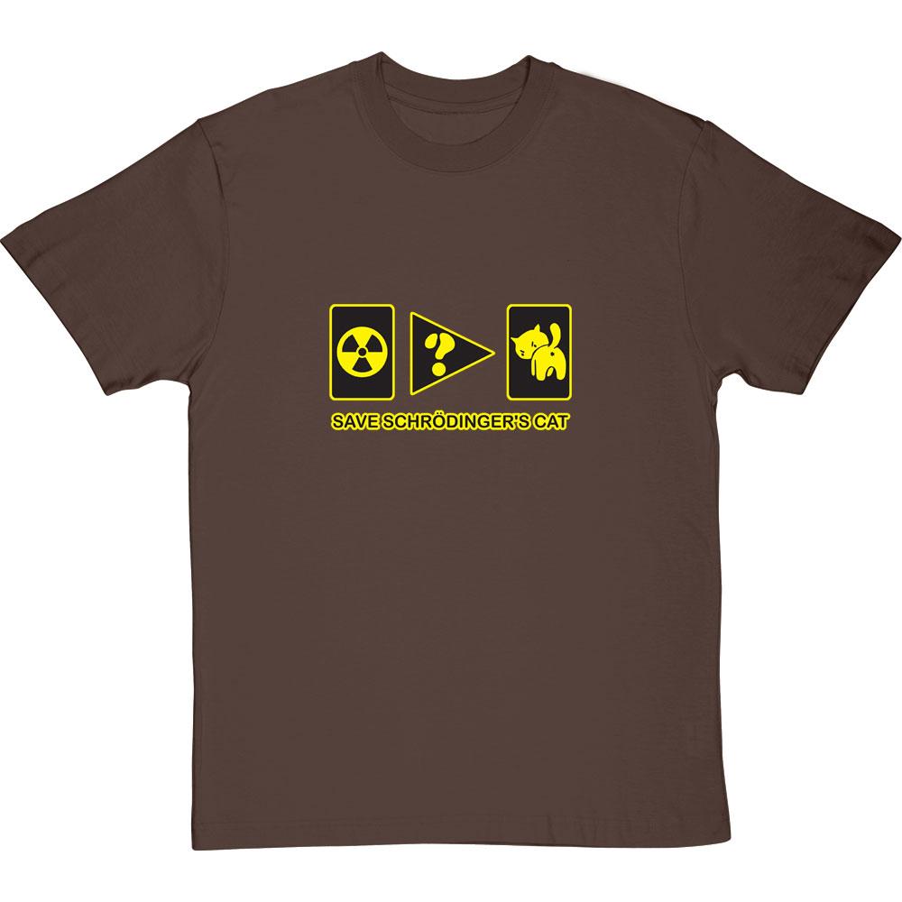 4cfa2bd03 Save Schrodinger's Cat T-Shirt | RedMolotov